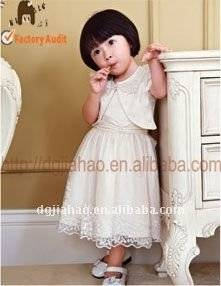 the New-designed Cute Baby Girl Dress with Coat