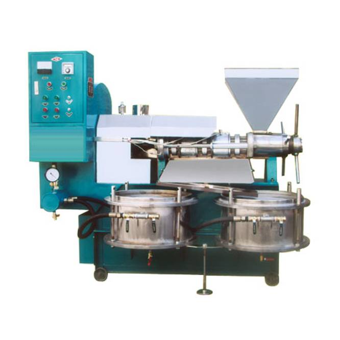 Hot and cold soybean oil press