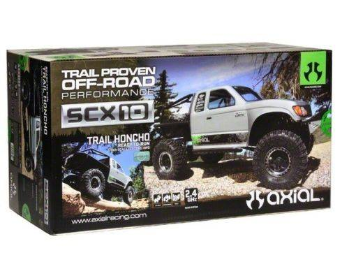 New Axial 1/10 SCX10 Trail Honcho 4WD 2.4gHz Radio RTR