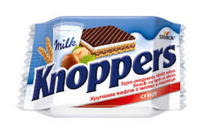 Knoppers T1 25g,Knoppers T8 200g