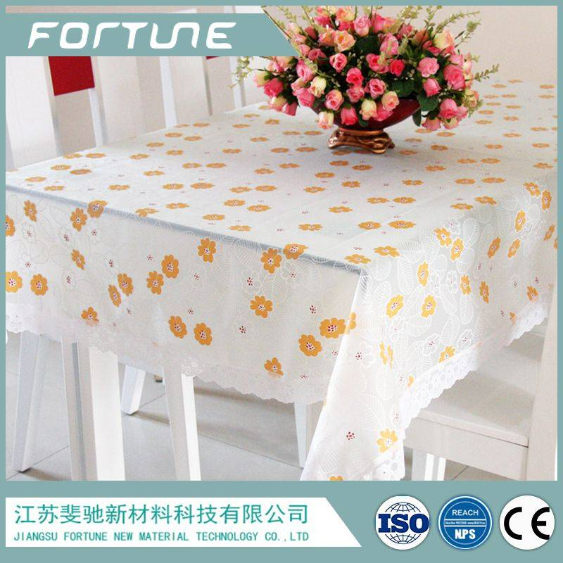 lace table cloth non-toxic for dinning