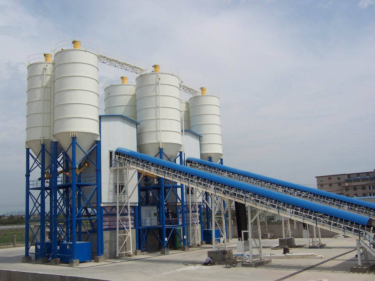 Concrete Mixing Plant HZS Series and YHZS Series