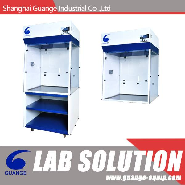 Steel Laboratory Furniture Ductless Laminar Flow Fume Hood SFH100