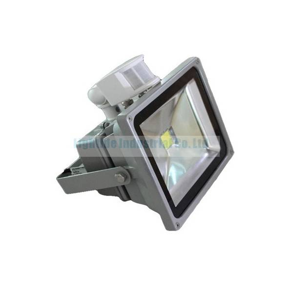 AC100-240V, Motion Sensor, 50W LED Flood Light with 3 Years warranty