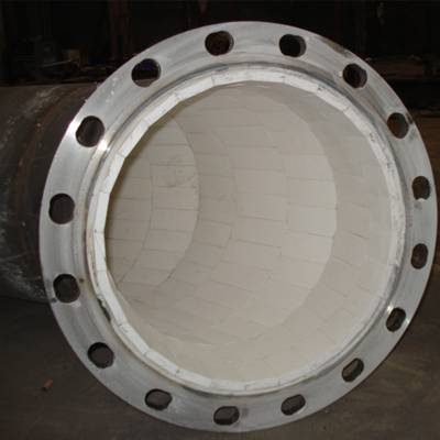 Long last ceramic lined wear resistant steel pipe