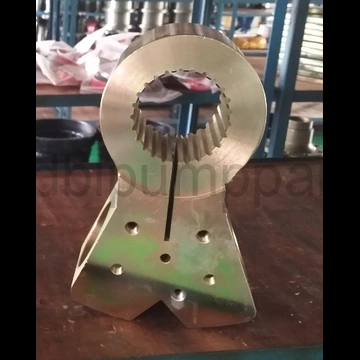 concrete pump swing lever