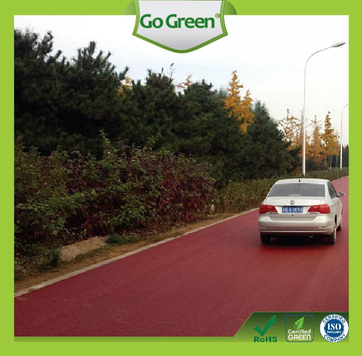 Go Green Hot Mix Color Asphalt
