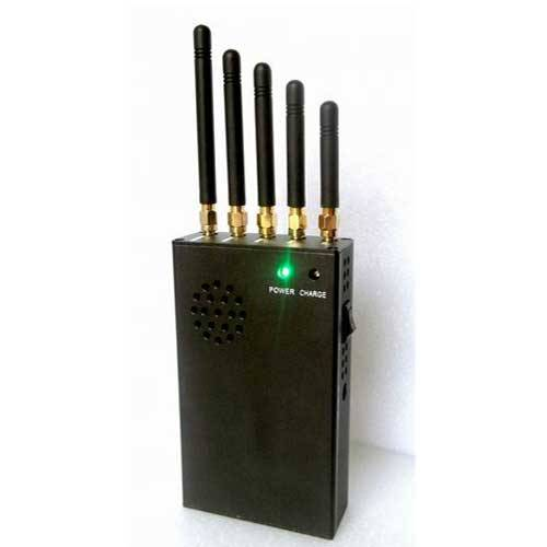 3W Portable 3G Cell Phone Jammer & 4G Jammer (4G LTE + 4G Wimax)