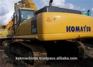 used  Komtsu excavator PC360