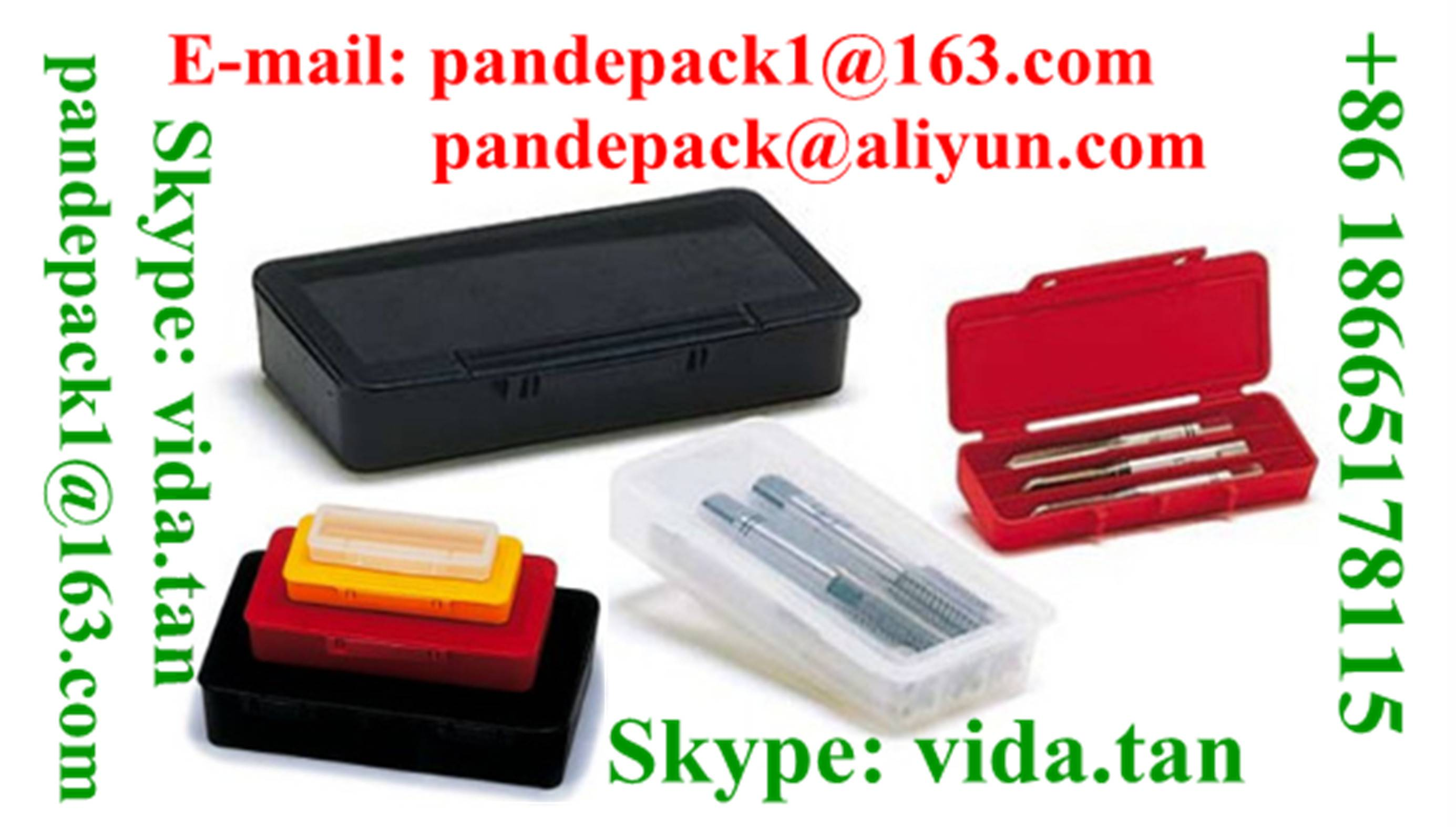 Sell UniBox for Set of 3 Hand Taps/Screw Tap Plastic Box/Package/Pack/Cutting Tool Box/Pack/Package