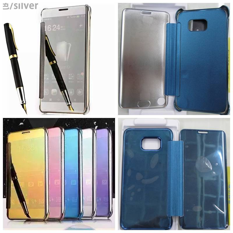 High Copy Samsung Phone Clear View Cover, Cellphone Protective Cases,Mobile phone Flip Cover