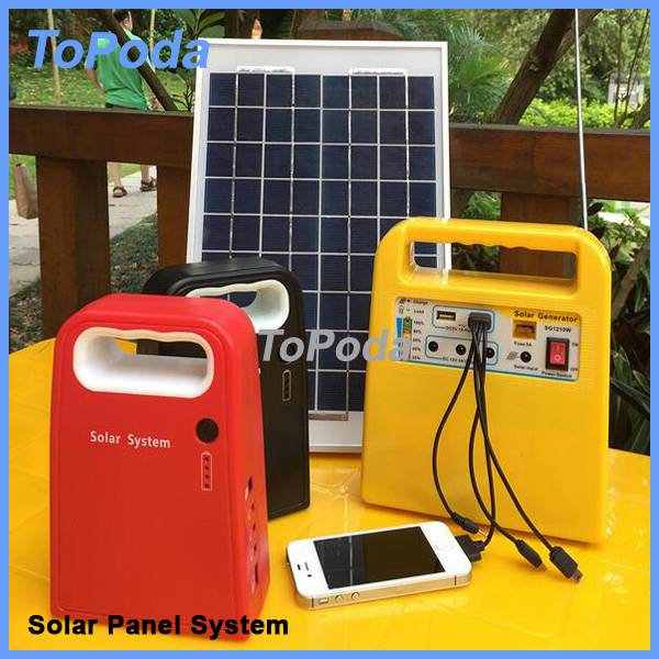 New solar power system for home