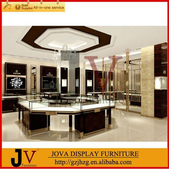 high quality jewelry showcases for jewelry store
