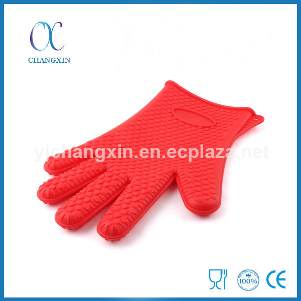 Best Selling Cooking Gadget Proximity Microwave Silicone Gloves with Finger