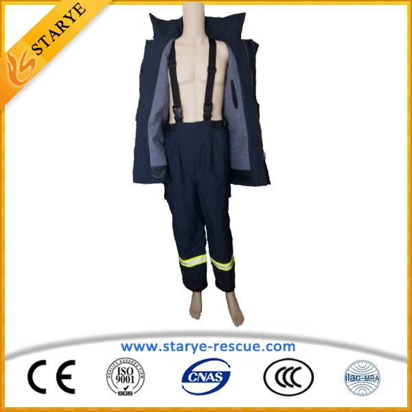 Aramid High Quality 4Layers Fire Fighter Suit