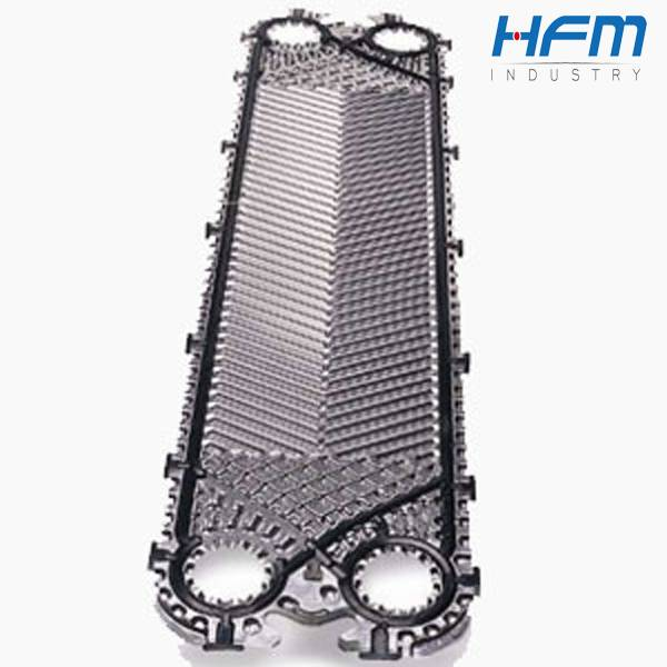 EPDM material gasket mechanical plate heat exchanger
