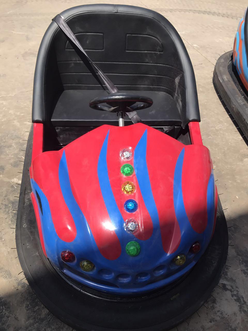 sanchuan high quality floor bumper car, amusement ride golden bumper car