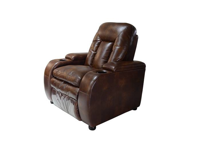 2015 new style recliner leather sofa