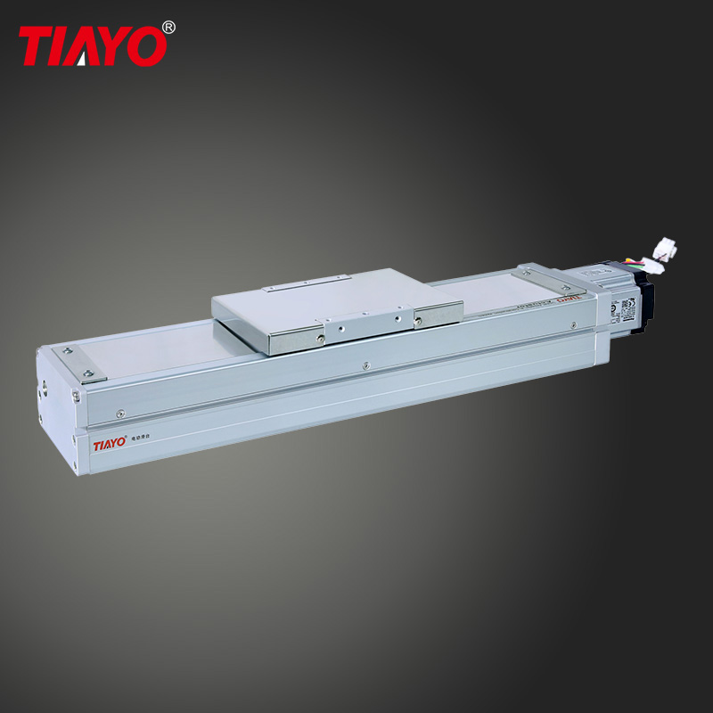 700mm Stroke 0.01mm Accuracy Ball Screw Linear Actuator Module for Polisher Machine