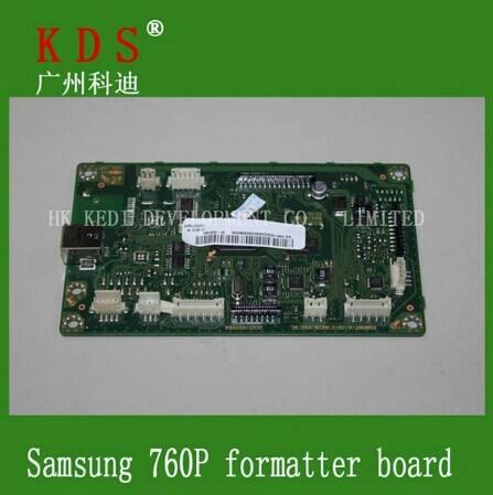 jc9202465a printer logic board/main board for 760p laserjet printer formatter board for samsung