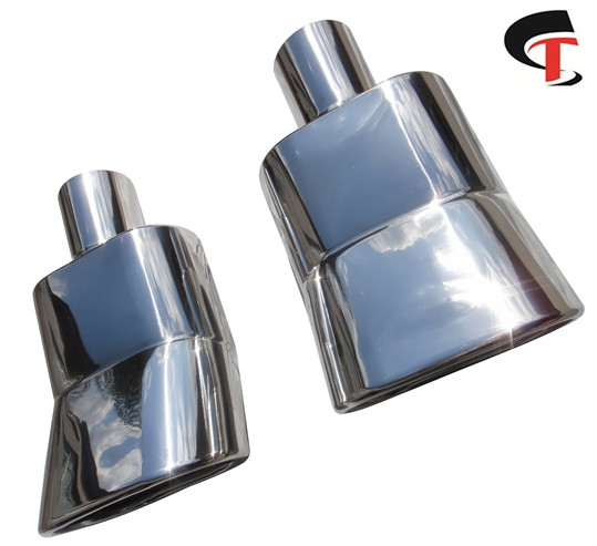 Polish Exhaust Tip Square