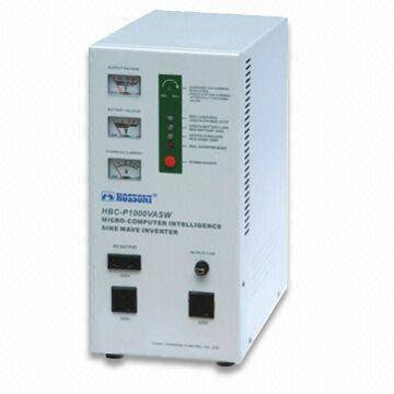 Lightweight Power Inverter with 100 to 500VA Power, Adapts Highly Sophisticated Technology