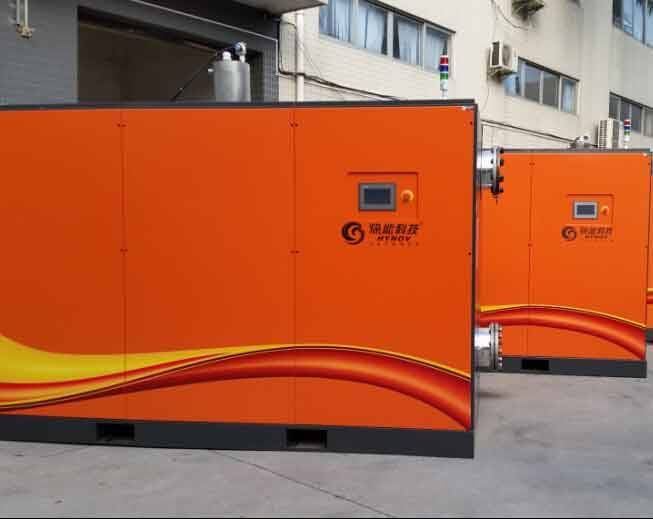 The introduction of heat recovery system of oil free compressor