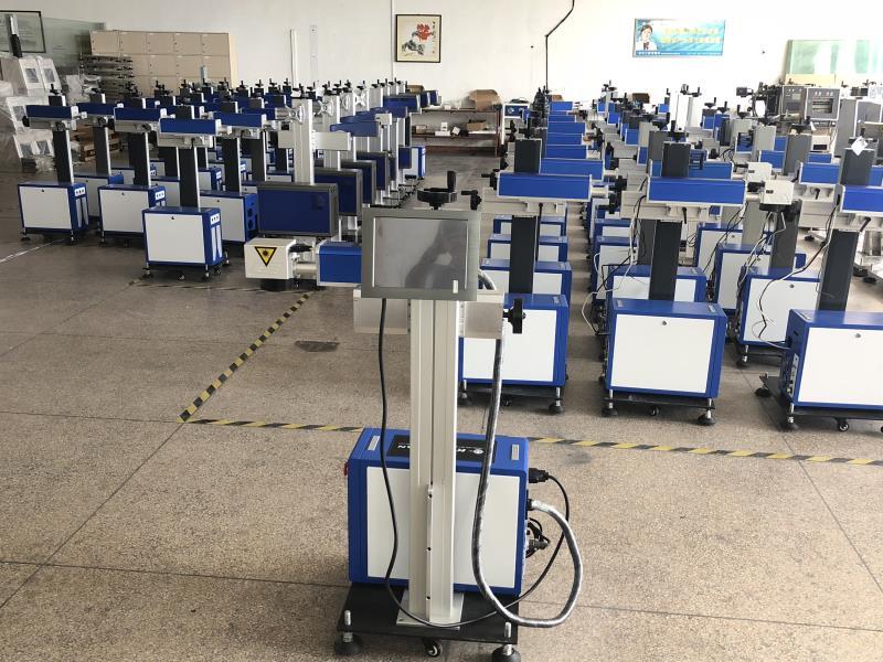 LC52 CO2 laser printing machine Laser printer