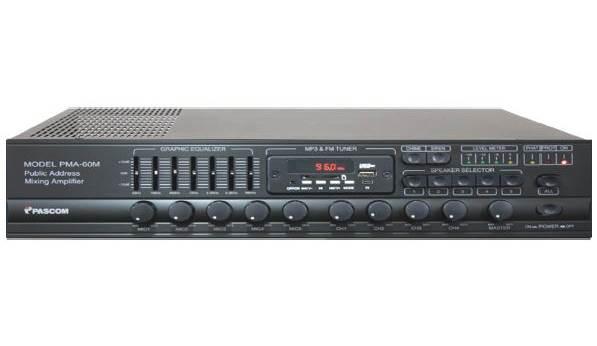 Amplifier PA system PMA-60M/120M/240M