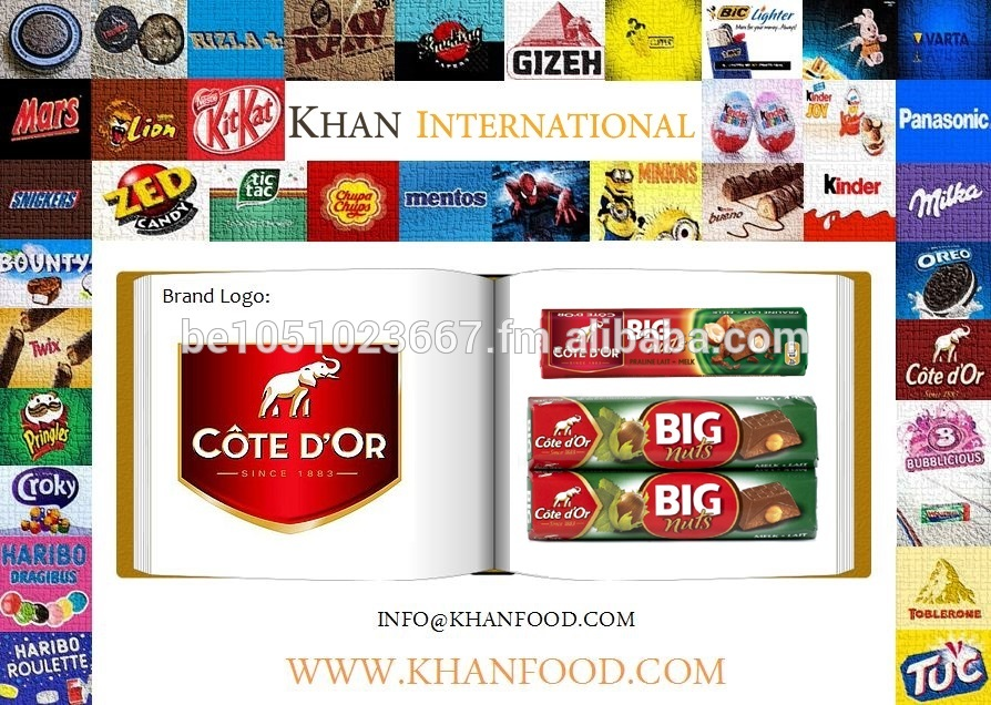 Côte D'or Chocolate - Big Nuts Single & 2 Pack