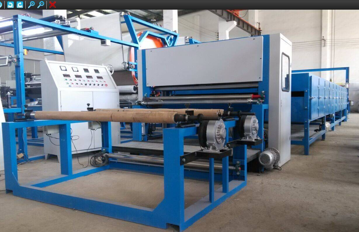 Carbon Powder Scattering Laminating Machine