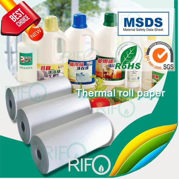Commodity Self Adhesive Label Material with RoHS and MSDS
