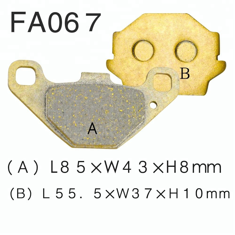 Racing motorcycle disc brake pads for SUZUKI GN125 GS125 GSX 250 400 wholesale factory price