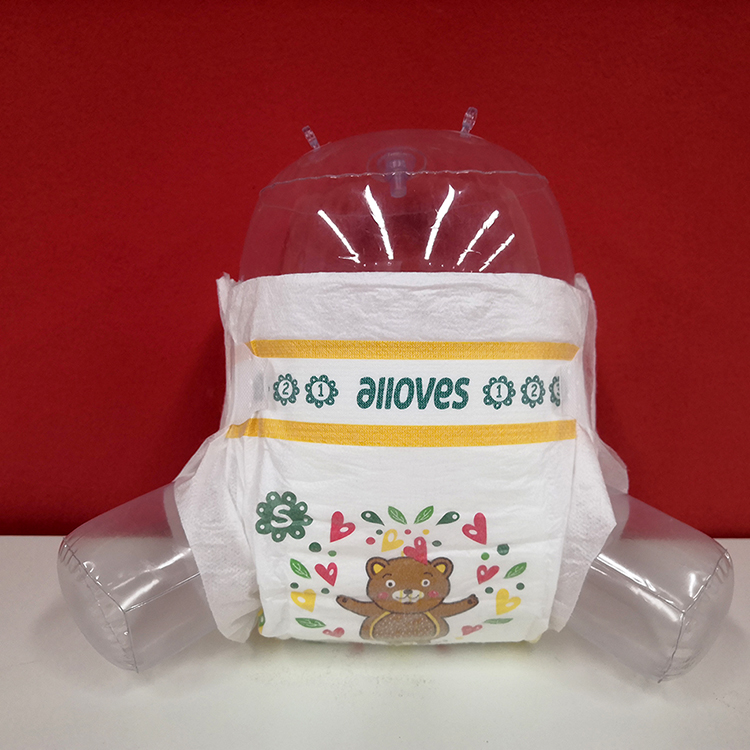 Alloves high quality disposable baby diapers wholesale