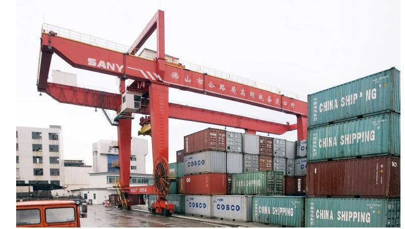 Rtg and Rmg container gantry crane