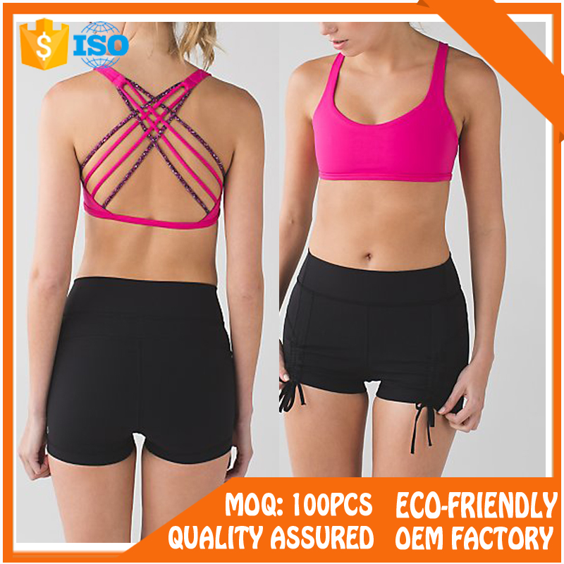 Women Wholesale Sports Bra Custom Sports Bra Yoga Fitness Sports Bra