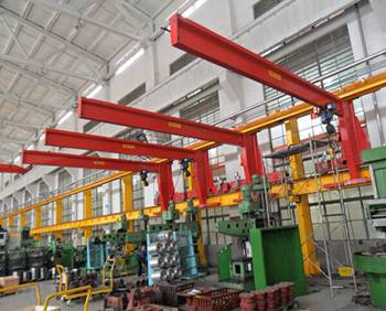 wall travelling jib crane with best price for sales