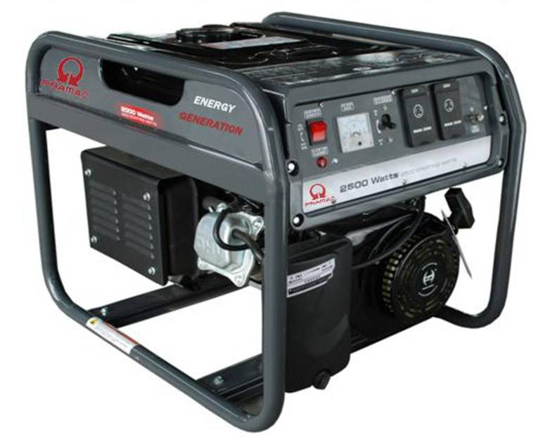 CE approval PRH 3000, 2.5KW portable gasoline generators for emergency electricity use