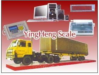 Digital electronic truck scale