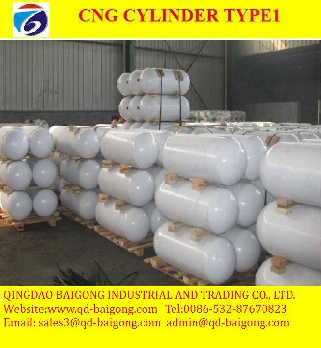 ISO11439 CNG gas cylinder for vehicles