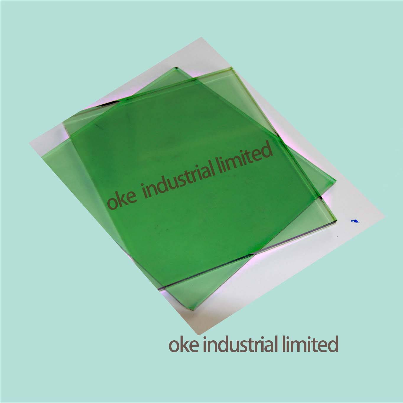 3.5MM F-GREEN FLOAT GLASS WITH 3660*2134/ 1830*2440