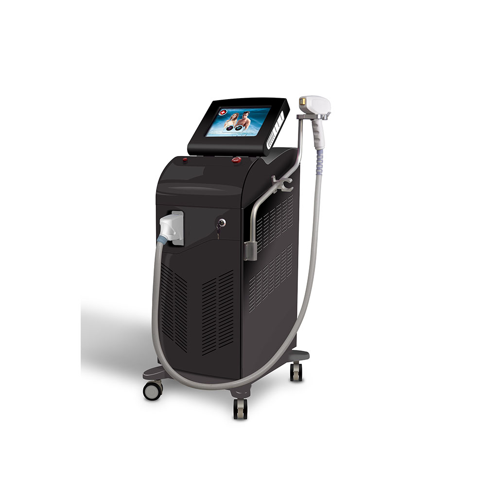 Triple wavelengths 755nm 810nm And 1064nm Diode Laser Hair Removal Machine