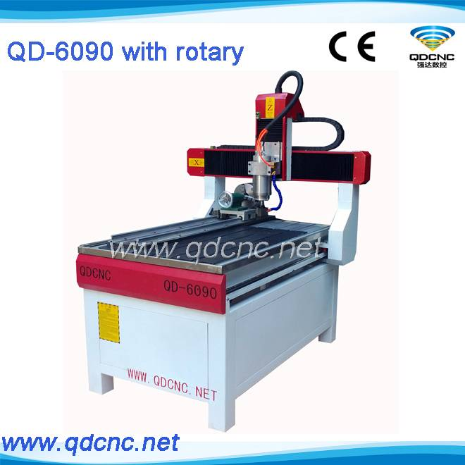 4axis cnc router QD-6090