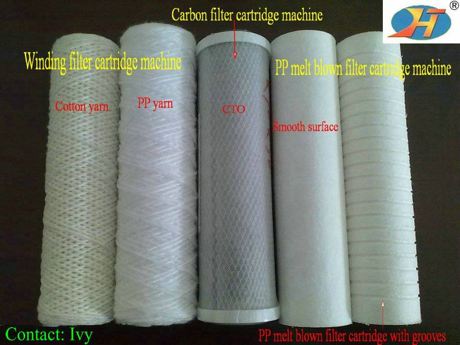 Filter Cartridge For Water Purification