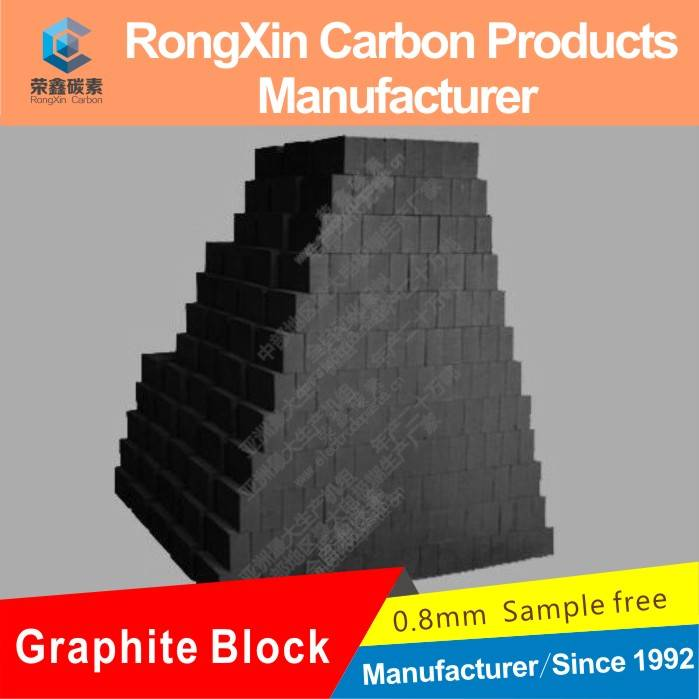 High Quality Isostatic Graphite Blocks For EDM Machining