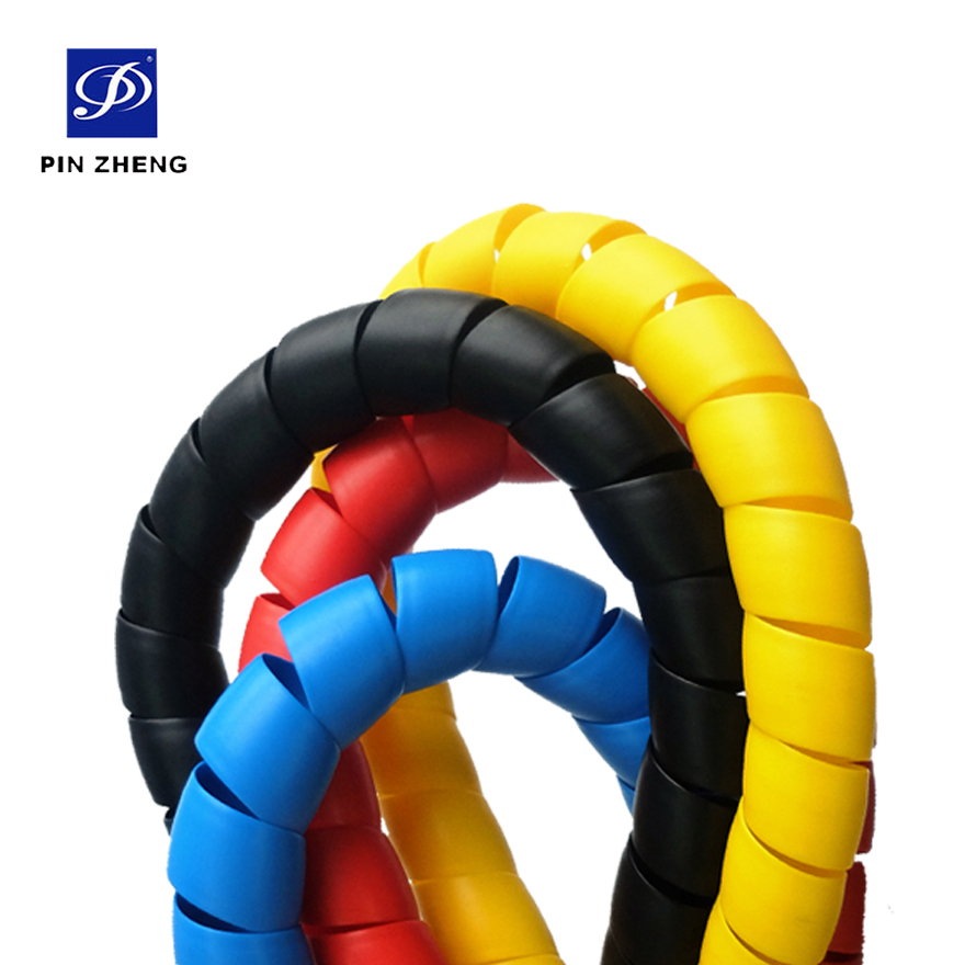 high quality polypropylene soft plastic protective spiral hose protection
