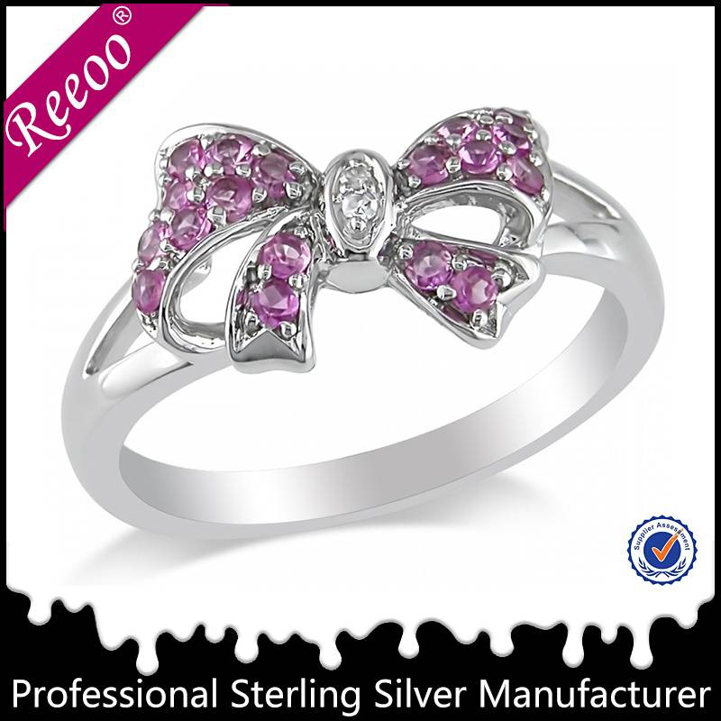 Girl's 925 silver ring