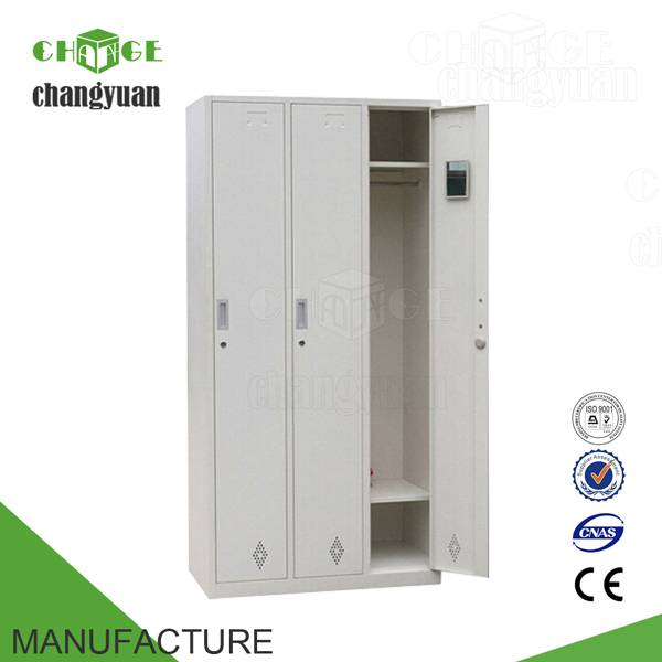 3  doors  steel  almirah  cabinet/ clothes  lockers  bedroom  furniture