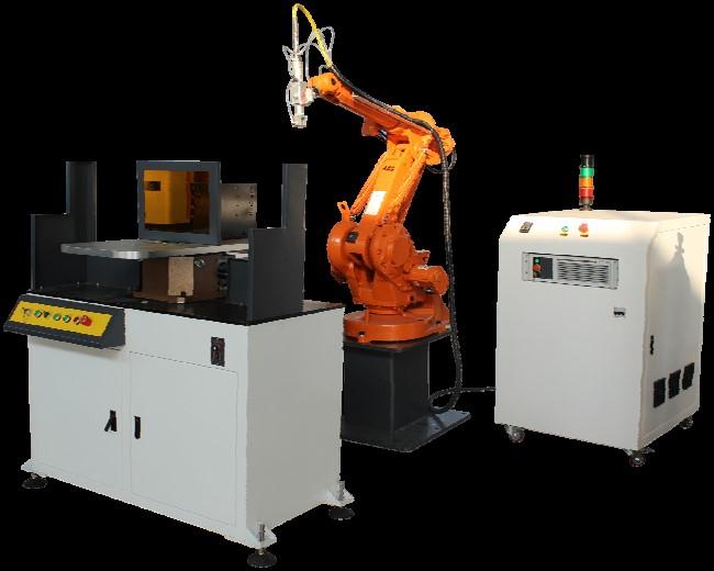 3D Robot Fiber Laser Welder, Complicated Welding Work, GMC ISO9001:2008, CE