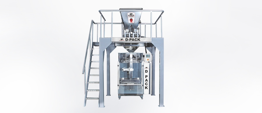 DMR 5000 4 Scales Automatic Food Packing Machine